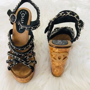 Authentic Chanel, size is 38 but rum small